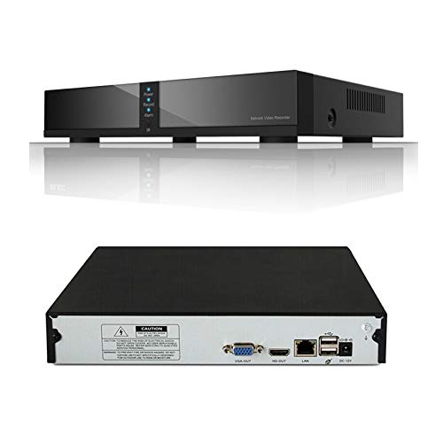 Seculink 8-canales 4MP/5MP Grabador de video en red Super HD NVR ONVIF...