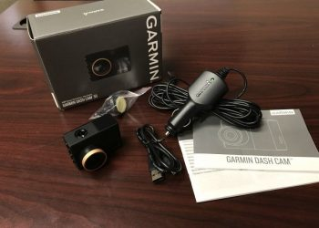 review dash cam garmin