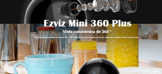 Ezviz Mini 360 Plus. Cámara C6T